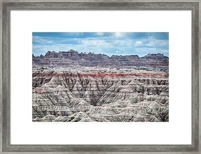 Badlands National Park Vista Framed Print