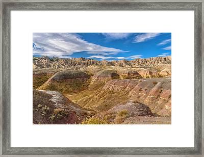 Badlands South Dakota Framed Print
