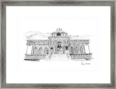 Badrinath Framed Print