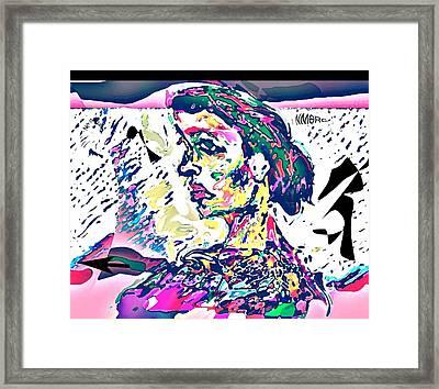 Badrya Framed Print by Noredin Morgan