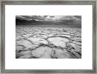 Badwater Framed Print