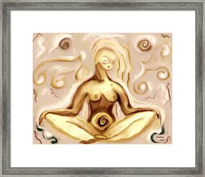Bagalamukhi Framed Print by Shelley Bain