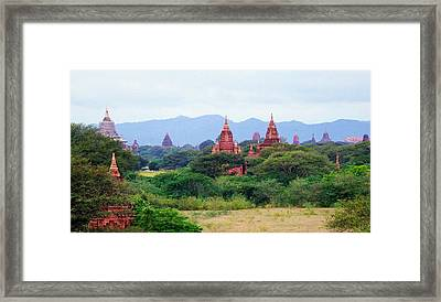 Bagan 1 Framed Print