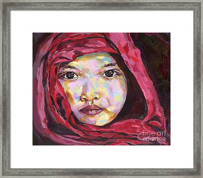 Bagan Novice Framed Print