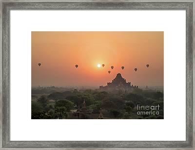 Bagan Temple Framed Print