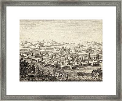 Bagdad Iraq In Late 18th Century Framed Print by Vintage Design Pics