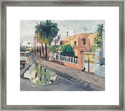 Baghdad Old House Framed Print by Montasir Wali