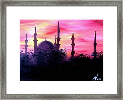 Baghdad Sunset Framed Print by Michael McKenzie