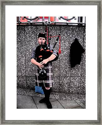 Framed Print featuring the photograph Bagpipe by Janelle Dey