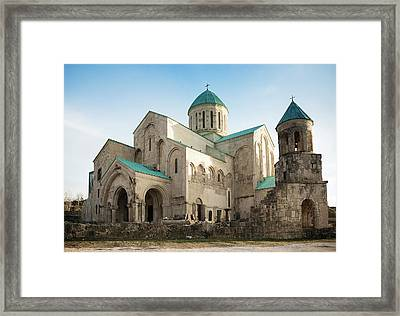 Bagrati Cathedral Framed Print