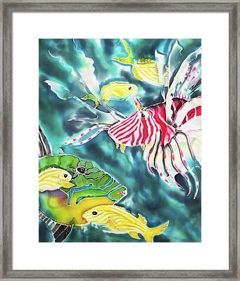 Bahamaian Delicacies Framed Print
