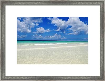 Bahama's Heaven Framed Print by Karla Kernz