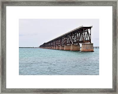 Bahia Honda Bridge Framed Print