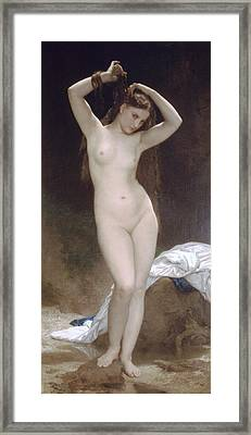 Baigneuse Or Bather Framed Print