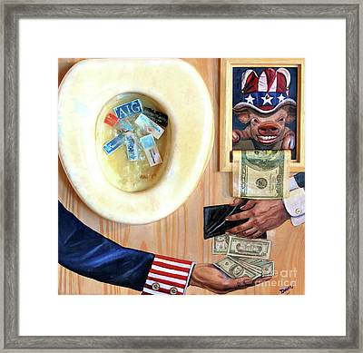 Bail Out Framed Print by Dawn Graham