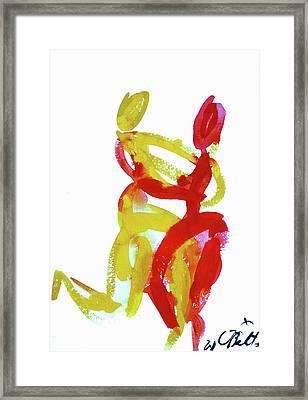 Bailando 12 Framed Print by Jorge Berlato