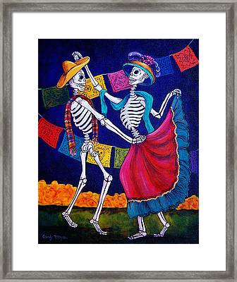 Bailando Framed Print by Candy Mayer