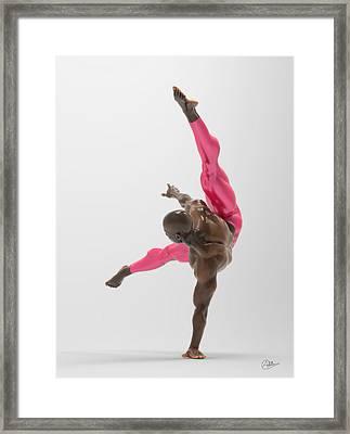 Bailarin Acrobata Framed Print
