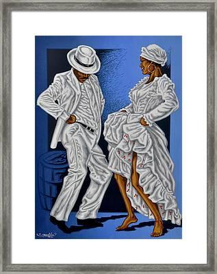 Baile De Figura Framed Print by Samuel Lind