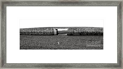 Bailey Island Bridge Framed Print