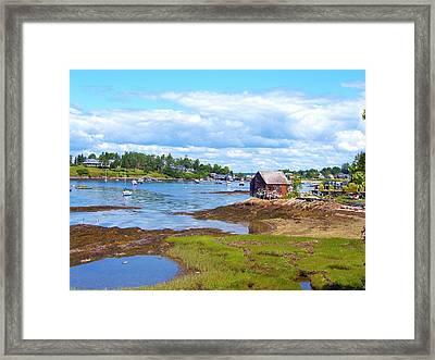 Bailey Island Lobster Shack Framed Print