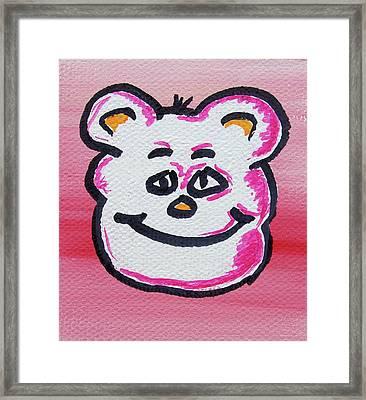 Bailey Framed Print by Jera Sky