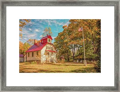 Baileys Harbor Keepers House Framed Print