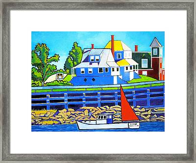 Bailey's Island Framed Print