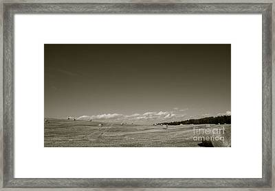 Bailing Time Framed Print by Peter Jamieson