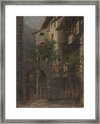 Baite In Val Di Non Framed Print