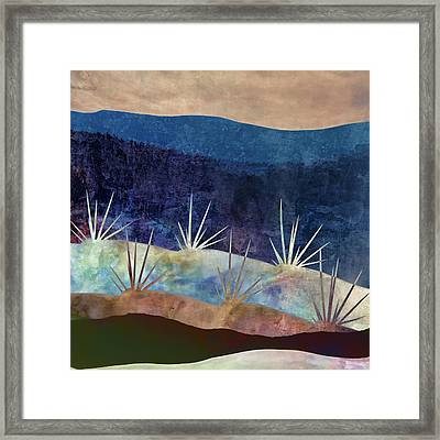 Baja Landscape Number 2 Framed Print by Carol Leigh