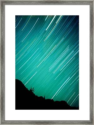 Baja Starry Night Framed Print by Benjamin Garvey