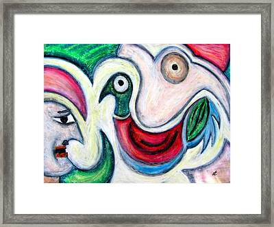 Bake It By Rafi Talby Framed Print by Rafi Talby