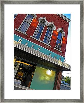 Bake Shop Framed Print