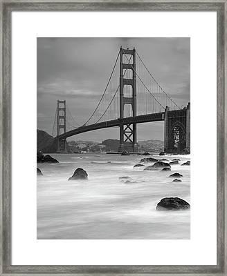 Baker Beach Impressions Framed Print