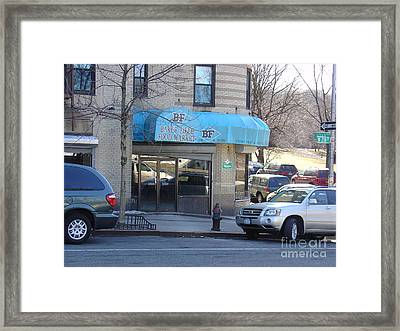 Baker Field Deli Framed Print by Cole Thompson