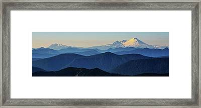 Baker From Pilchuck Framed Print