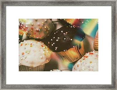Bakers Cupcake Delight Framed Print
