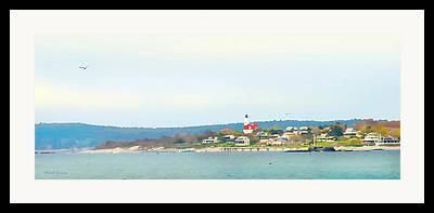 Bakers Island Framed Prints
