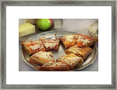 Bakery - Apple Danish Framed Print