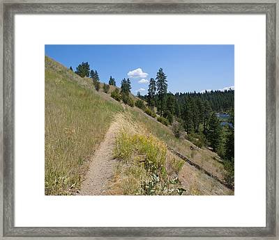 Framed Print featuring the photograph Bakery Hill by Ben Upham III