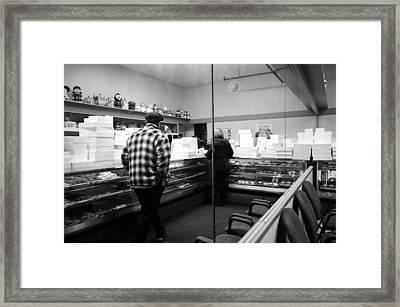 The Bakery Framed Print