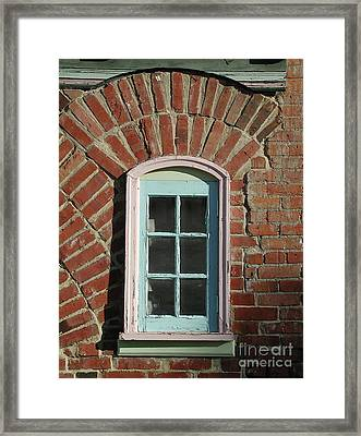 Framed Print featuring the photograph Bakery Window II by Jane Bucci