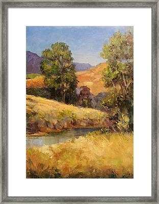 Bakesfield Creek Afternoon Framed Print