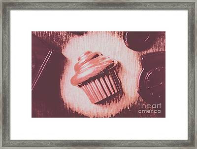 Baking Chocolate Cupcake Framed Print by Jorgo Photography - Wall Art Gallery