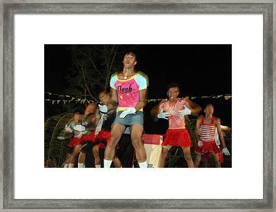 Bakla Dance 2 Framed Print by Jez C Self