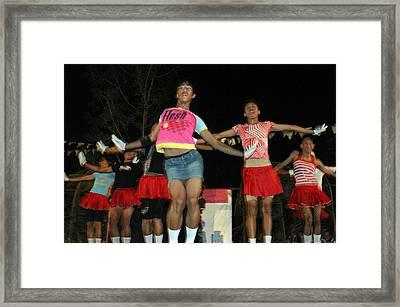 Bakla Dance 3 Framed Print by Jez C Self