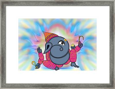 Madhura Ganesha Framed Print