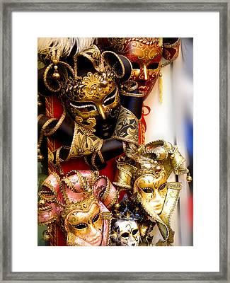 Bal Masque Framed Print