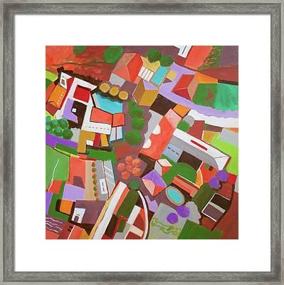 Bala Cynwood Framed Print by Toni Silber-Delerive